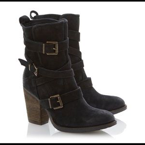 Steve Madden Yale belted boot 7.5